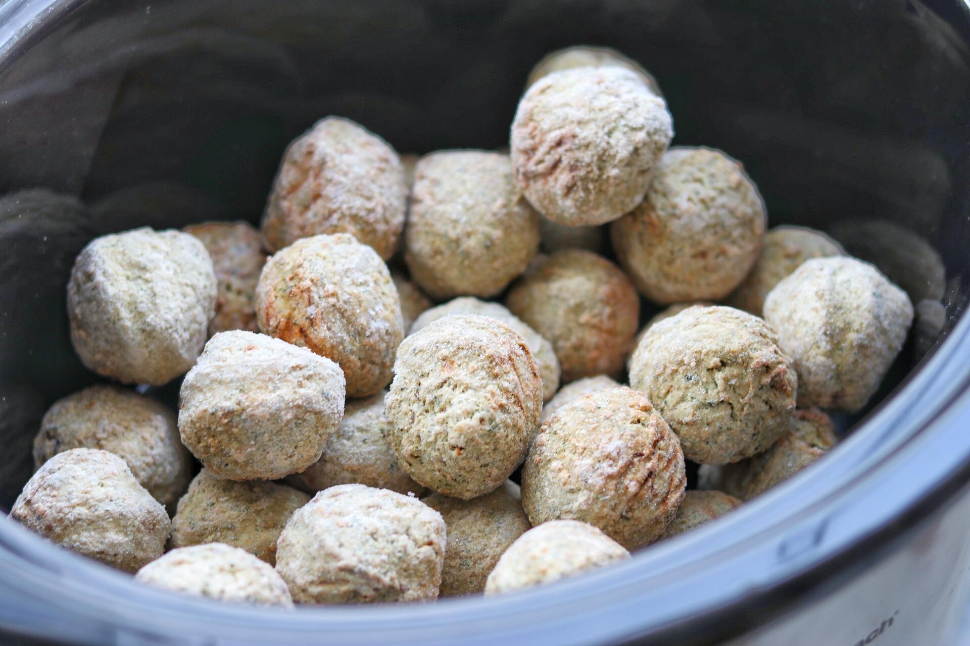 party meatballs crock pot