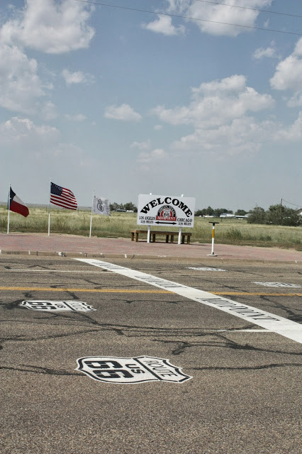 route 66 stops - midpoint cafe in adrian, texas
