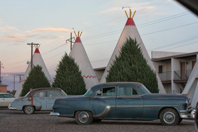 route 66 with kids - wigwam village motel in holbrook, az (inspiration for the cozy cone motel in disney cars movie)