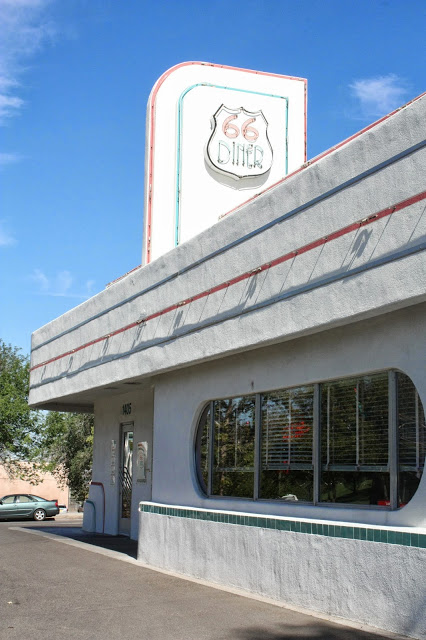Route 66 road trip itinerary with stops that inspired Radiator Springs: 66 Diner