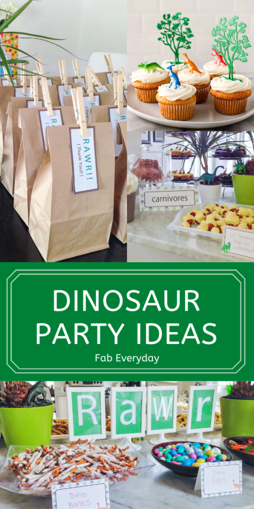 Dinosaur-Themed Birthday Party