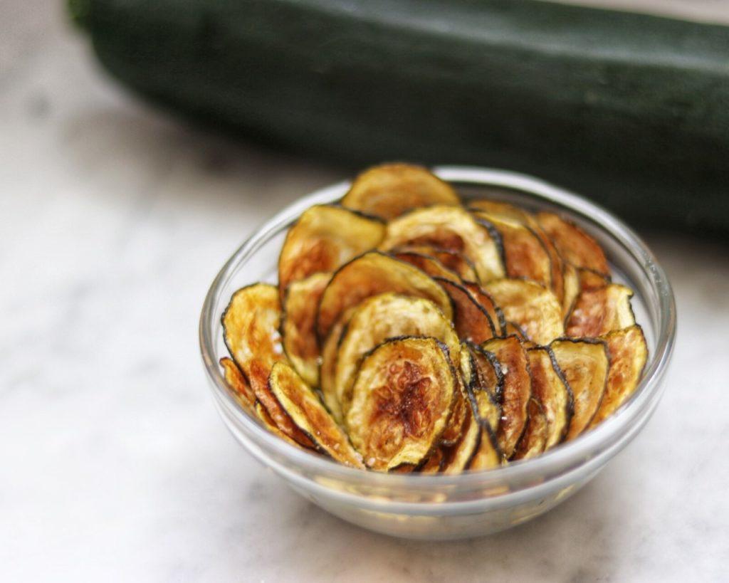 Zucchini Chips - tried-and-true zucchini recipe ideas