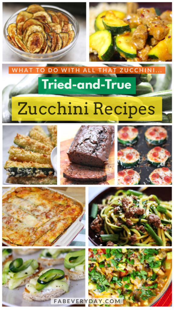 What to do with lots of zucchini: Tried-and-true zucchini meal ideas