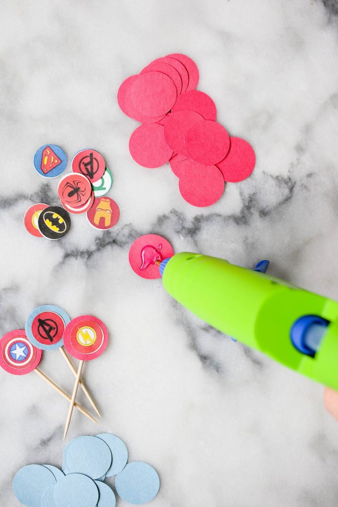 How to make DIY cupcake toppers