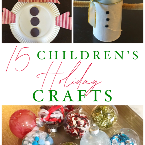 15 easy Christmas crafts for kids