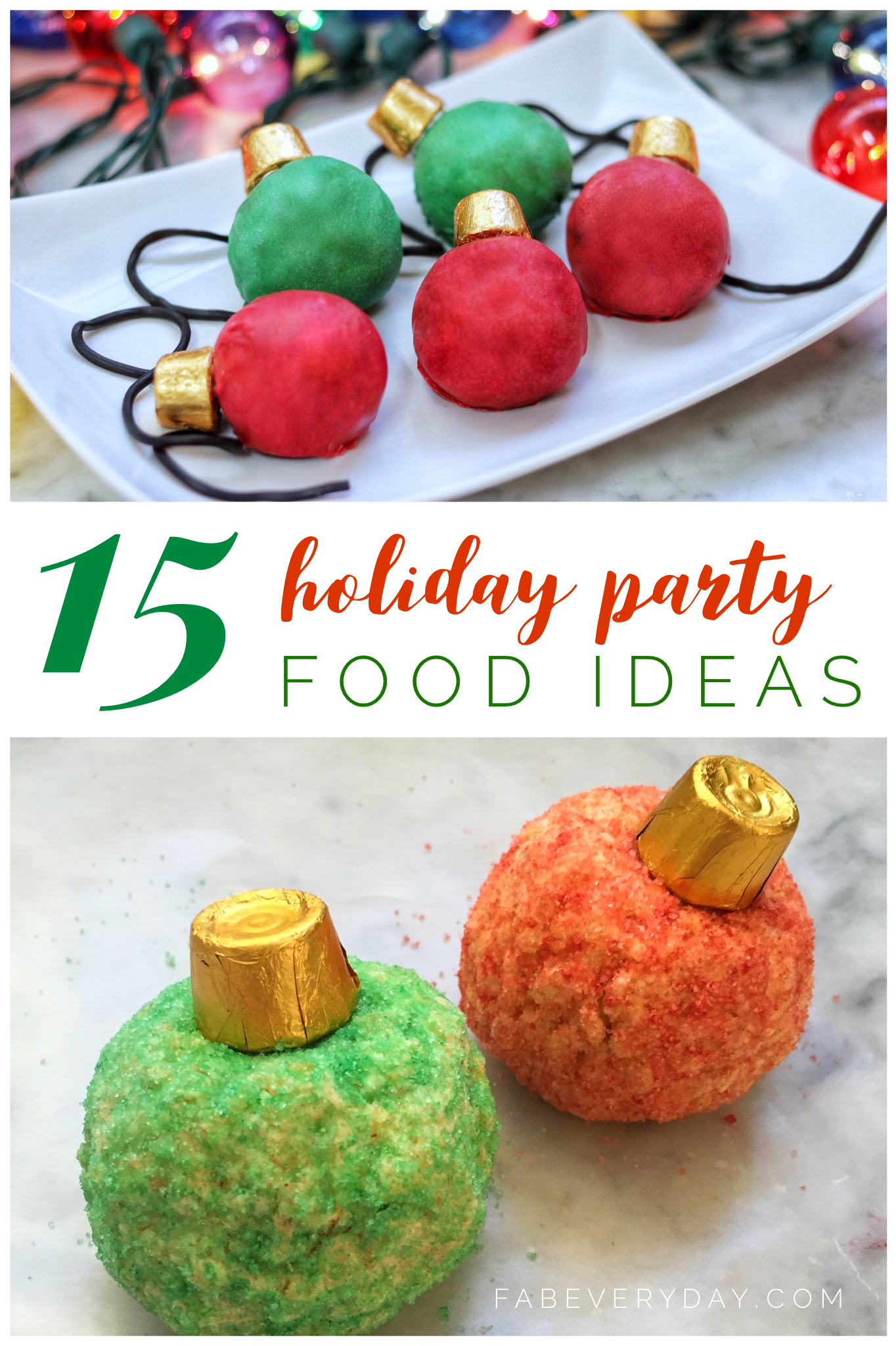 15 Fun And Easy Christmas Party Food Ideas Fab Everyday