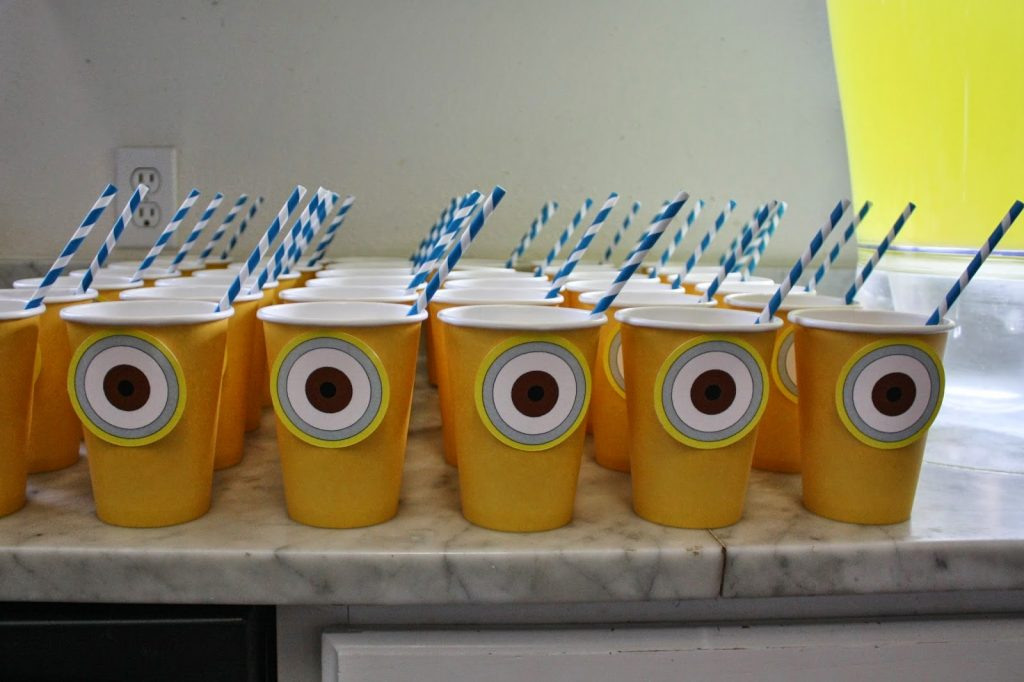 despicable me minion 5th birthday party fab everyday