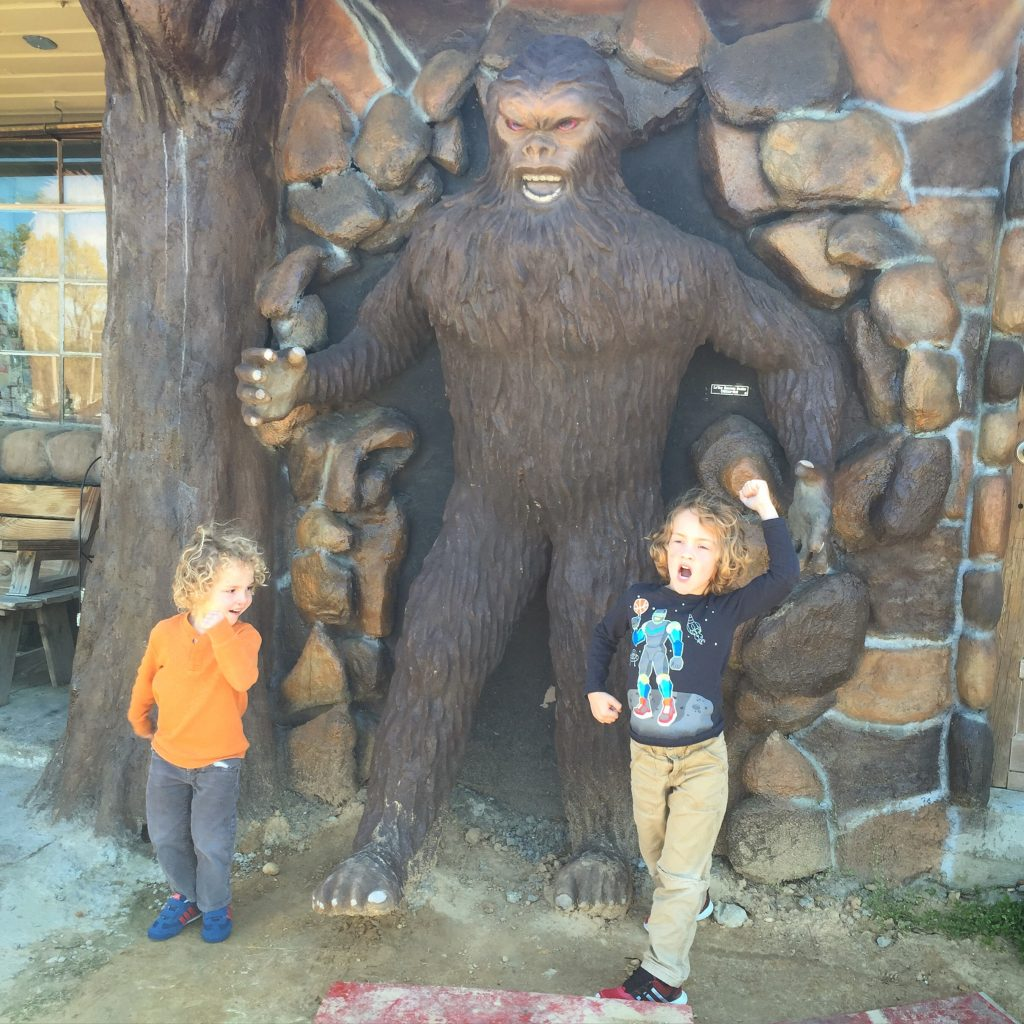 best family road trip: roadside attraction the boggy creek monster in fouke, arkansas