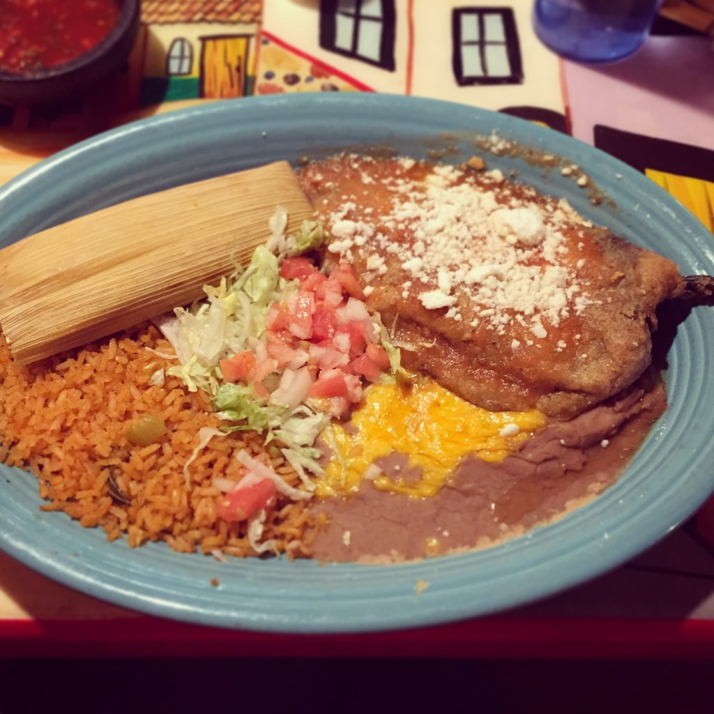 Where to eat during a road trip from Texas to California: Dinner at Plaza Bonita in Grand Canyon Village
