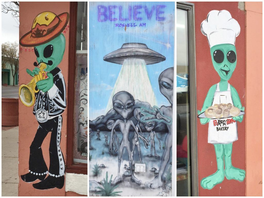 things to do on a road trip from Texas to California - roswell, new mexico