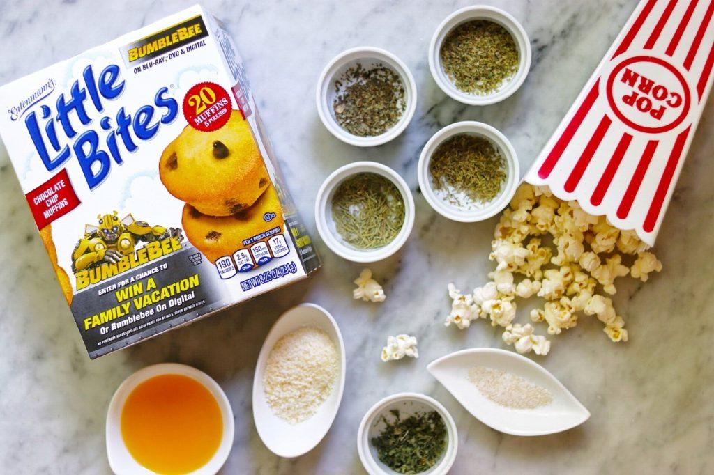 homemade popcorn seasoning recipes: italian popcorn