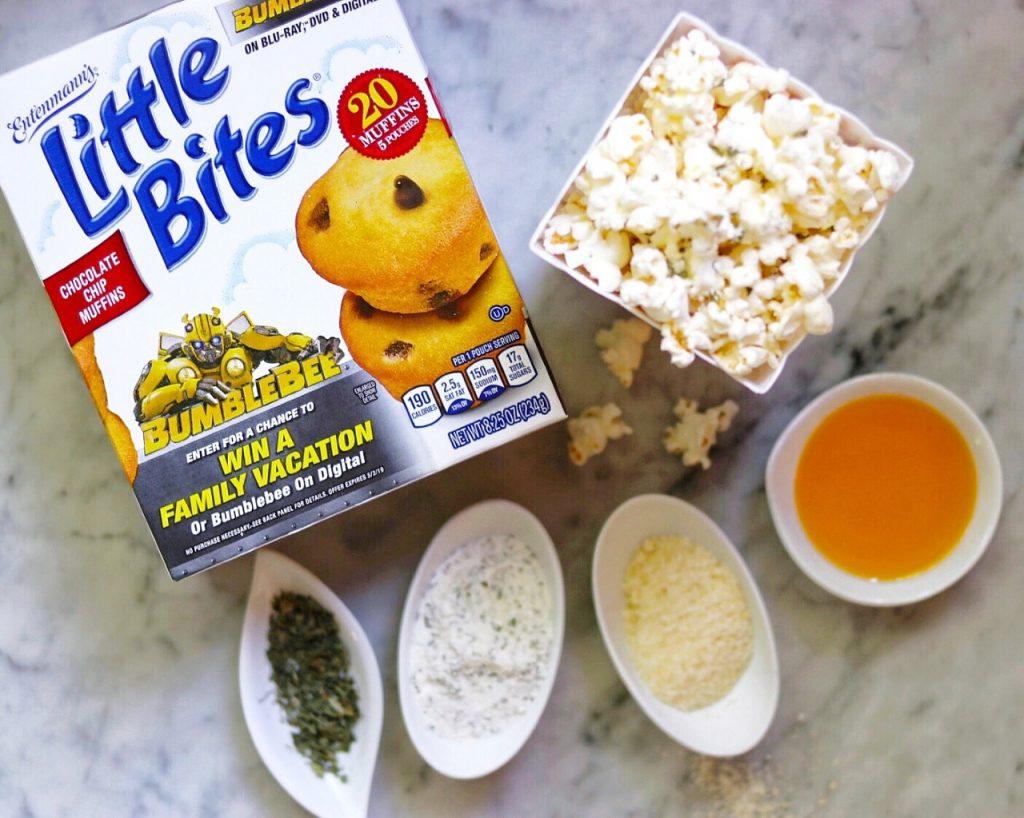 homemade popcorn seasoning recipes: easy ranch popcorn