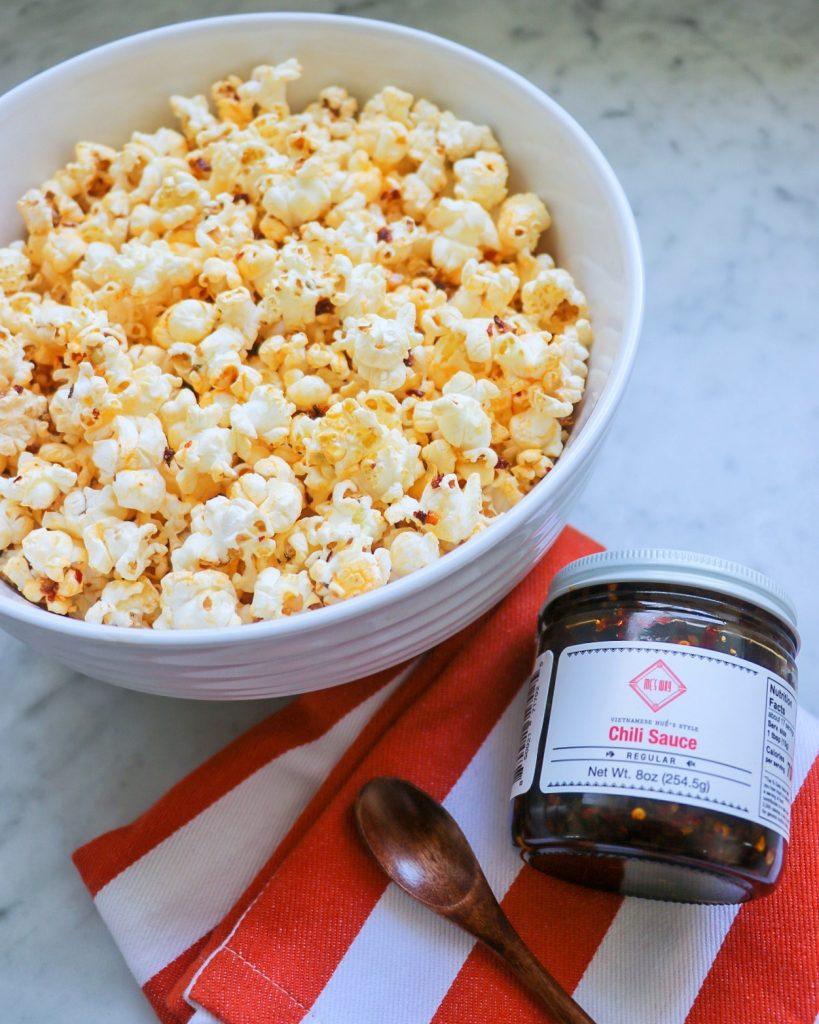 homemade popcorn seasoning recipes: vietnamese chili popcorn