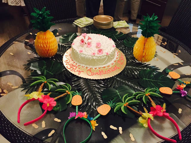 Tropical Pineapple Party Destination Birthday Party In