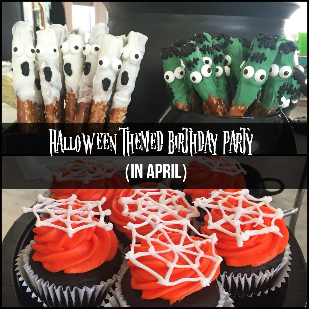 Halloween-Themed Birthday Party (in April)