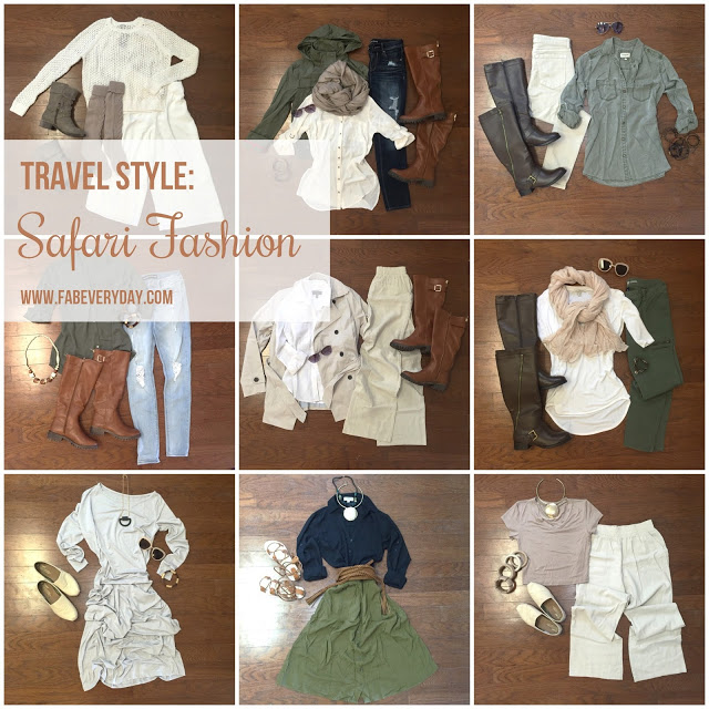 10 Safari Outfit Ideas for Women