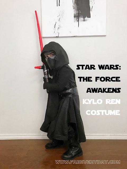 Star Wars: The Force Awakens Costume - Kylo Ren Kids Costume