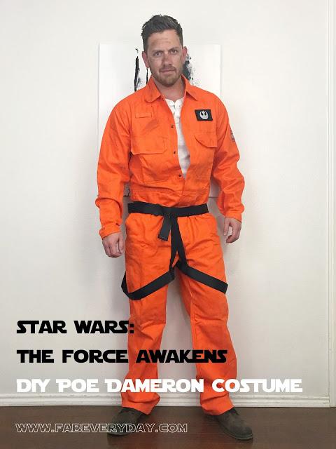 DIY Star Wars: The Force Awakens  Costume - Poe Dameron
