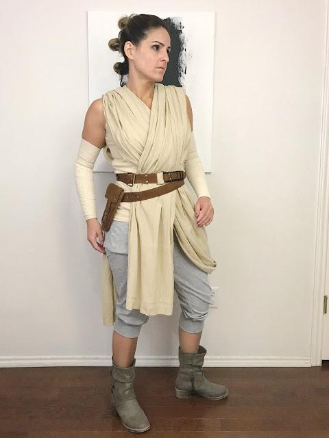 DIY Star Wars: The Force Awakens Costume - Rey