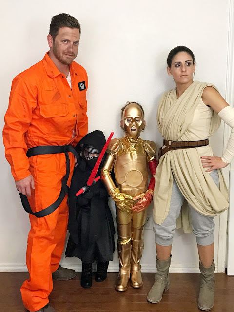 Star Wars The Force Awakens Family Halloween Costumes Fab Everyday
