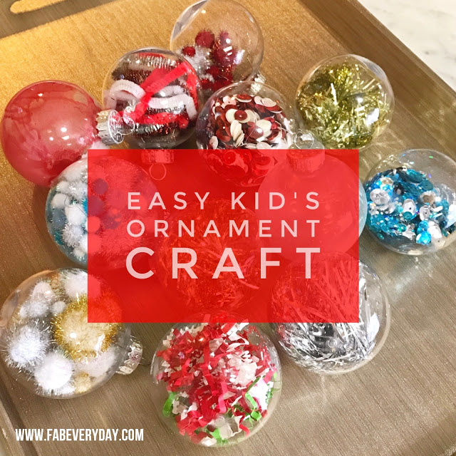 Easy And Cute Kid S Ornament Crafts Fab Everyday