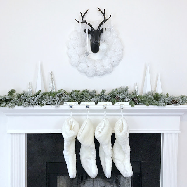 Contemporary Christmas Décor - Chic Modern Holiday Mantel