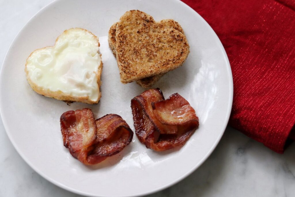 Heart-shaped everything: Valentine's Day breakfast ideas