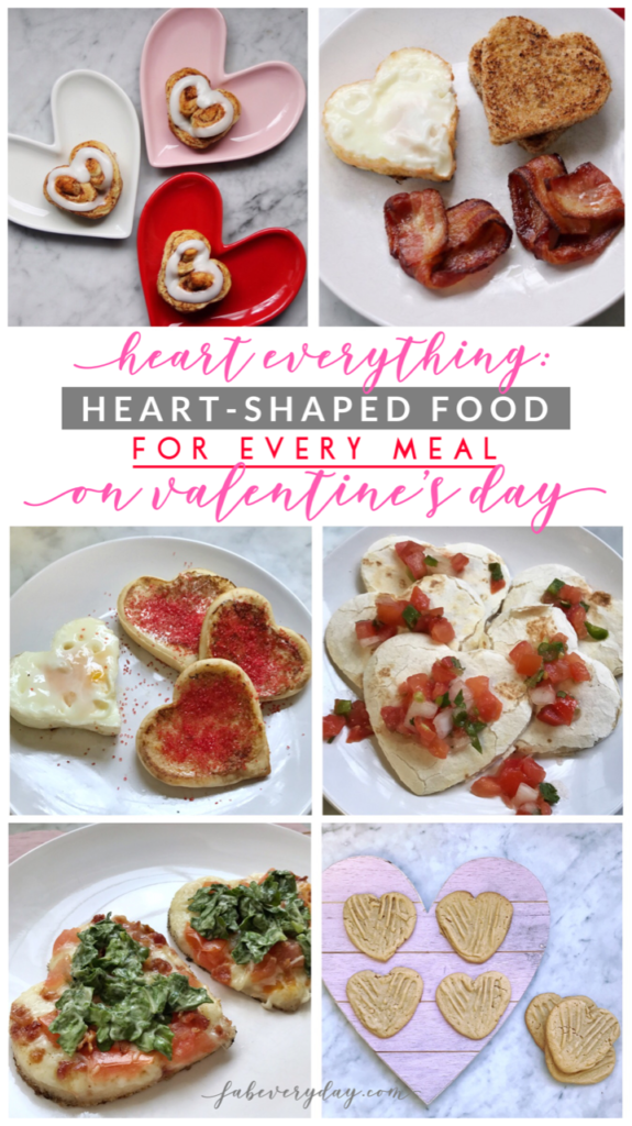 Heart Everything: Heart-Shaped Food Ideas for Every Valentine's Day Meal