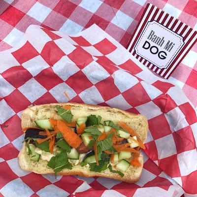 hot dog bar ideas: banh mi dog
