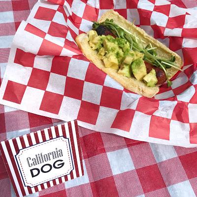 hot dog bar ideas: california dog