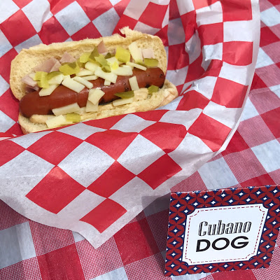 ideas for a hot dog bar: cubano dog
