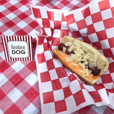 hot dog bar topping ideas: reuben dog