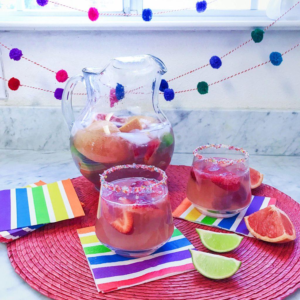 Sparkling Rosé Sangria