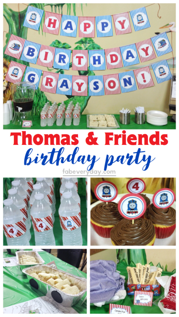 photo relating to Free Printable Thomas the Train Cup Cake Toppers named Thomas the Coach Birthday Celebration (with Totally free Thomas and