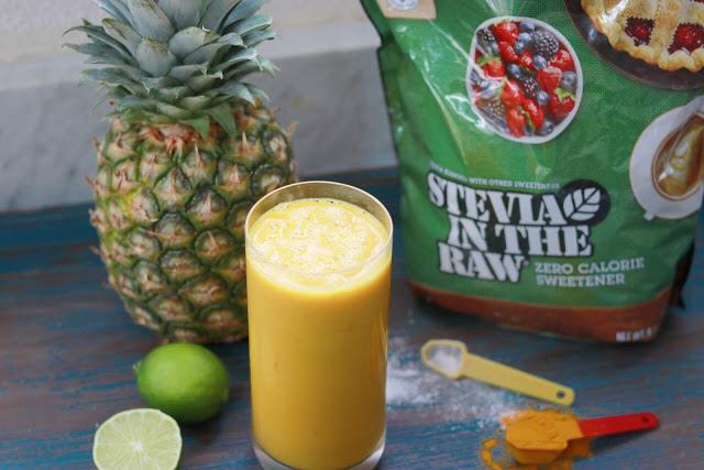pineapple turmeric smoothie recipe