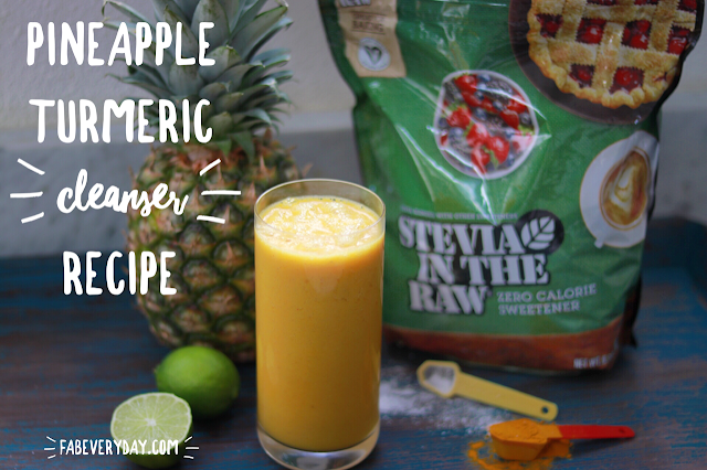 Pineapple Turmeric Cleanser smoothie recipe