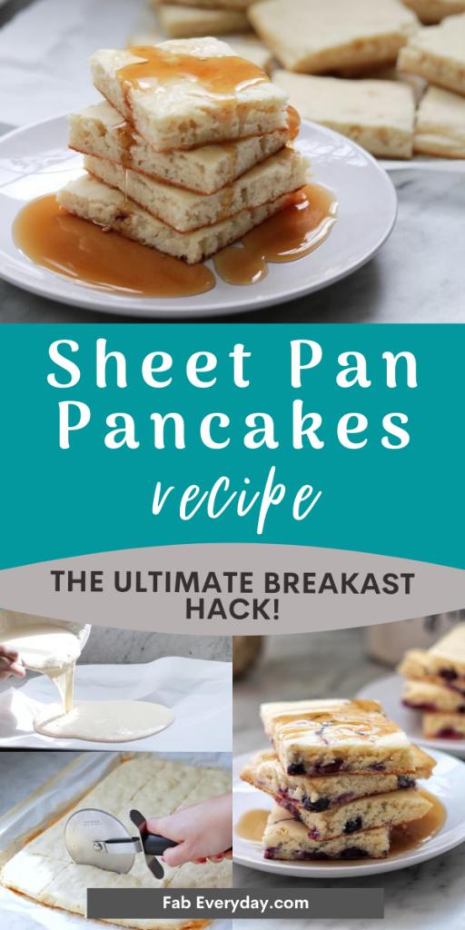 Sheet Pan Pancakes recipe - The genius pancake hack you need in your life