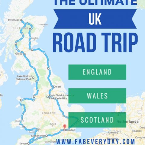Road Map Of England And Scotland.England Archives Fab Everyday