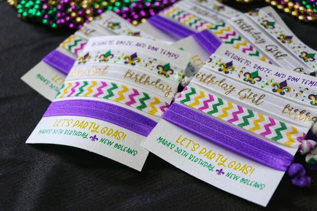 New Orleans bachelorette party favors
