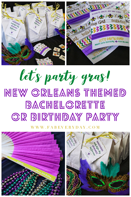 New Orleans bachelorette party or birthday party ideas