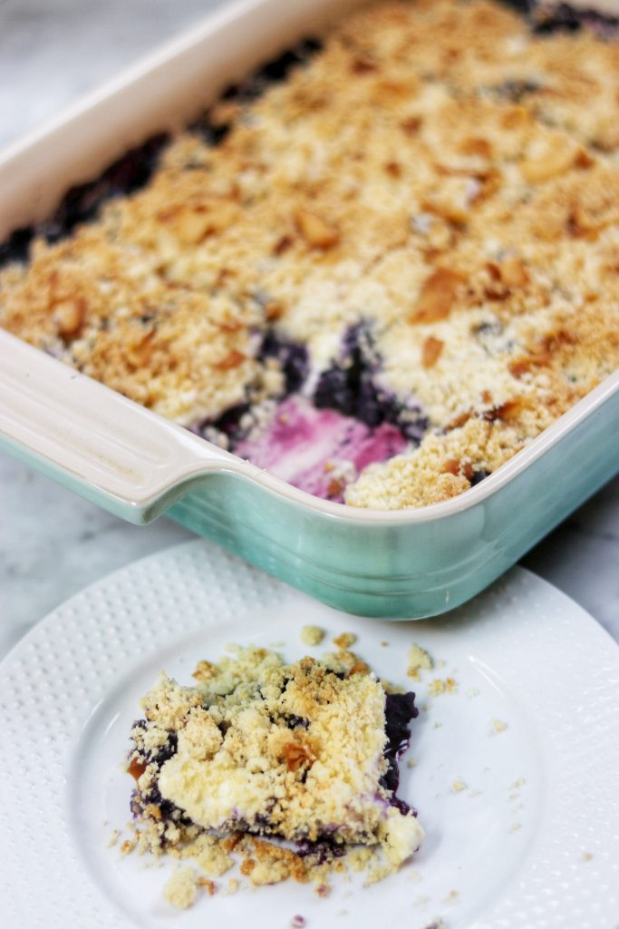 keto blueberry cream cheese crumble low carb dessert recipe ideas