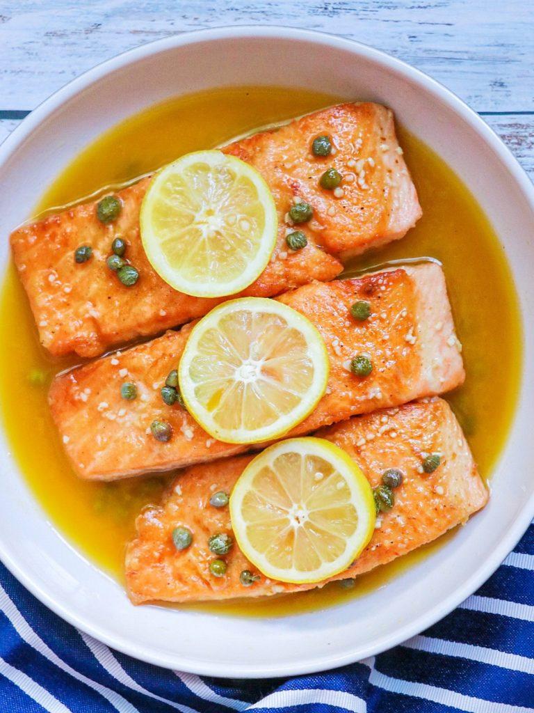 Restaurant-Worthy Quick Salmon Piccata Recipe