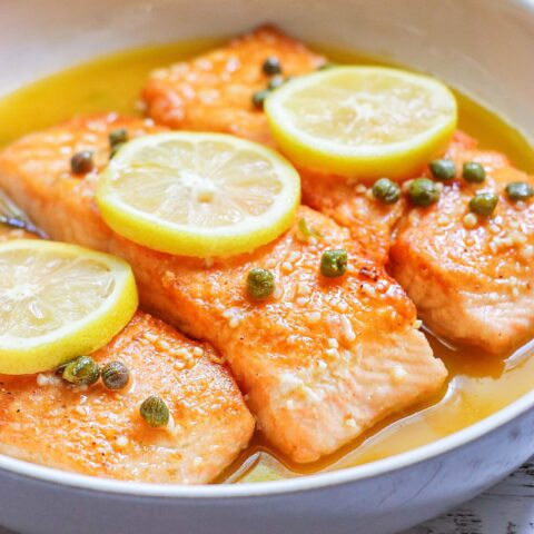 Restaurant-Worthy Quick Salmon Piccata Recipe
