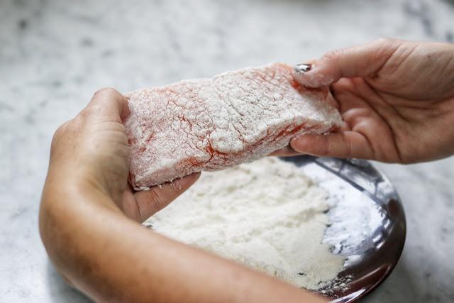 how to make salmon piccata