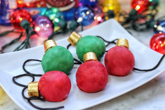 Christmas ball recipes no bake