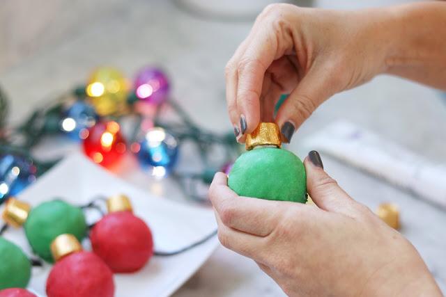 OREO Cookie Balls Christmas Lights
