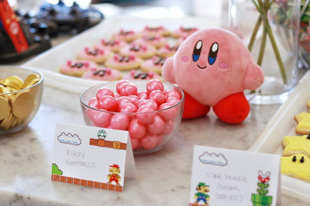 Classic Nintendo Birthday Party (Mario Bros., Zelda, Kirby
