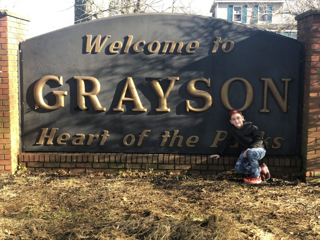 grayson, ky - road trip from texas to washington dc