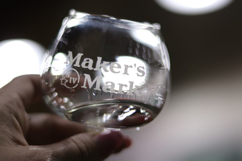 White Dog (essentially moonshine) at Maker's Mark Distillery
