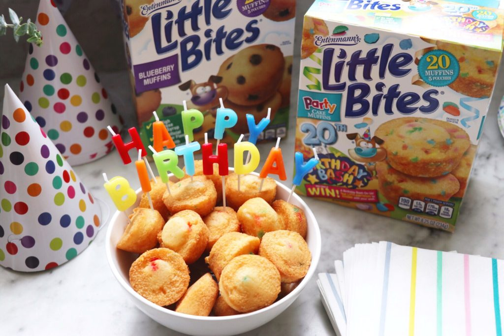 Celebrating Entenmann's® Little Bites® 20th birthday with a
